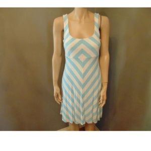 Bailey 44 Chevron Mini Summer Dress Size Medium
